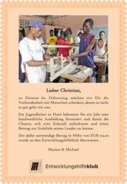 Geschenks-Urkunde