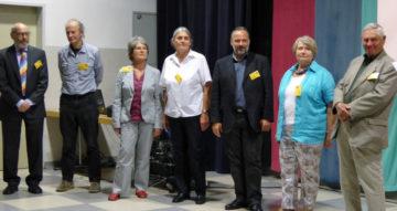 Die aktuellen Vorstandsmitglieder v.l.n.r.: Hilbert Heikenwälder, Gerhard Dorffner, Susanne Pesendorfer, Doris Schoißengeier, Manfred Formanek, Gertrude Hanzal, Robert Wychera